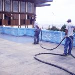 ÇAMLICA KÖŞKÜ | Two Component Spray Polyurathane Water Insulation and Flooring Systems
