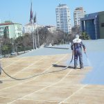 GALLERIA AVM | Two Component Spray Polyurathane Water Insulation and Flooring Systems