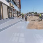 HAYAT TEPE | Two Component Spray Polyurathane Water Insulation and Flooring Systems