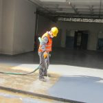 ÖZDİLEK AVM | Two Component Spray Polyurathane Water Insulation and Flooring Systems