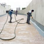 SİNPAŞ BOSHPHORUS CITY | Two Component Spray Polyurathane Water Insulation and Flooring Systems